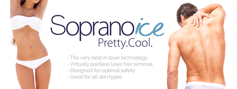 Soprano ICE Laser Hair removal